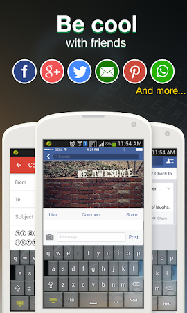 Cool Fonts for Whatsapp & SMS 2.0 screenshot 227828