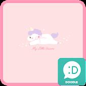 My little unicorn 카카오톡 테마