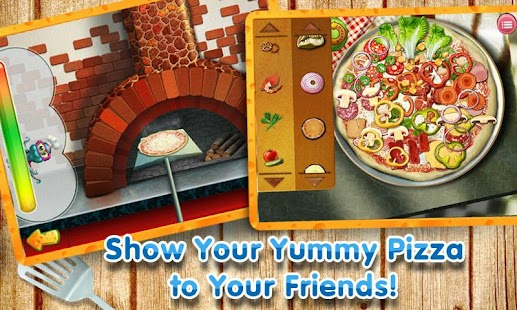 Pizza Maker Crazy Chef Game - screenshot thumbnail