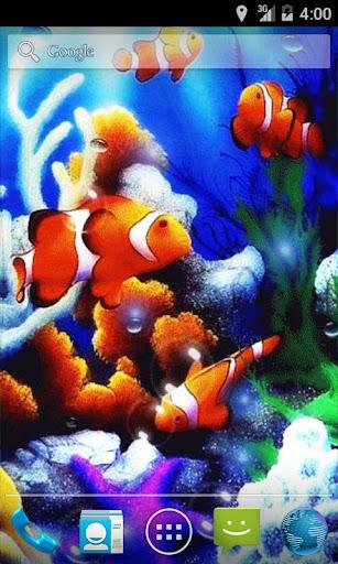 Bubbles Sea Live Wallpaper