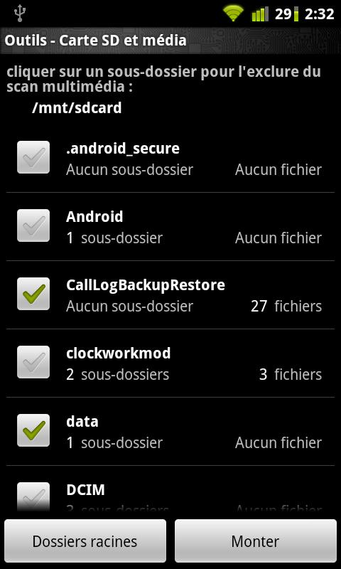 Droidtools - screenshot
