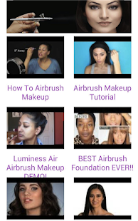 Airbrush Makeup Tutorials - screenshot thumbnail