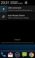 Screenshot of Auto-Rotate Status Bar Switch