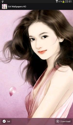 【免費生活App】Girl Wallpapers HD-APP點子