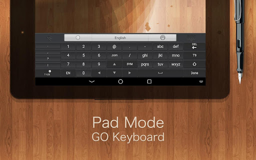 GO Keyboard Plugin- Tablet Pad