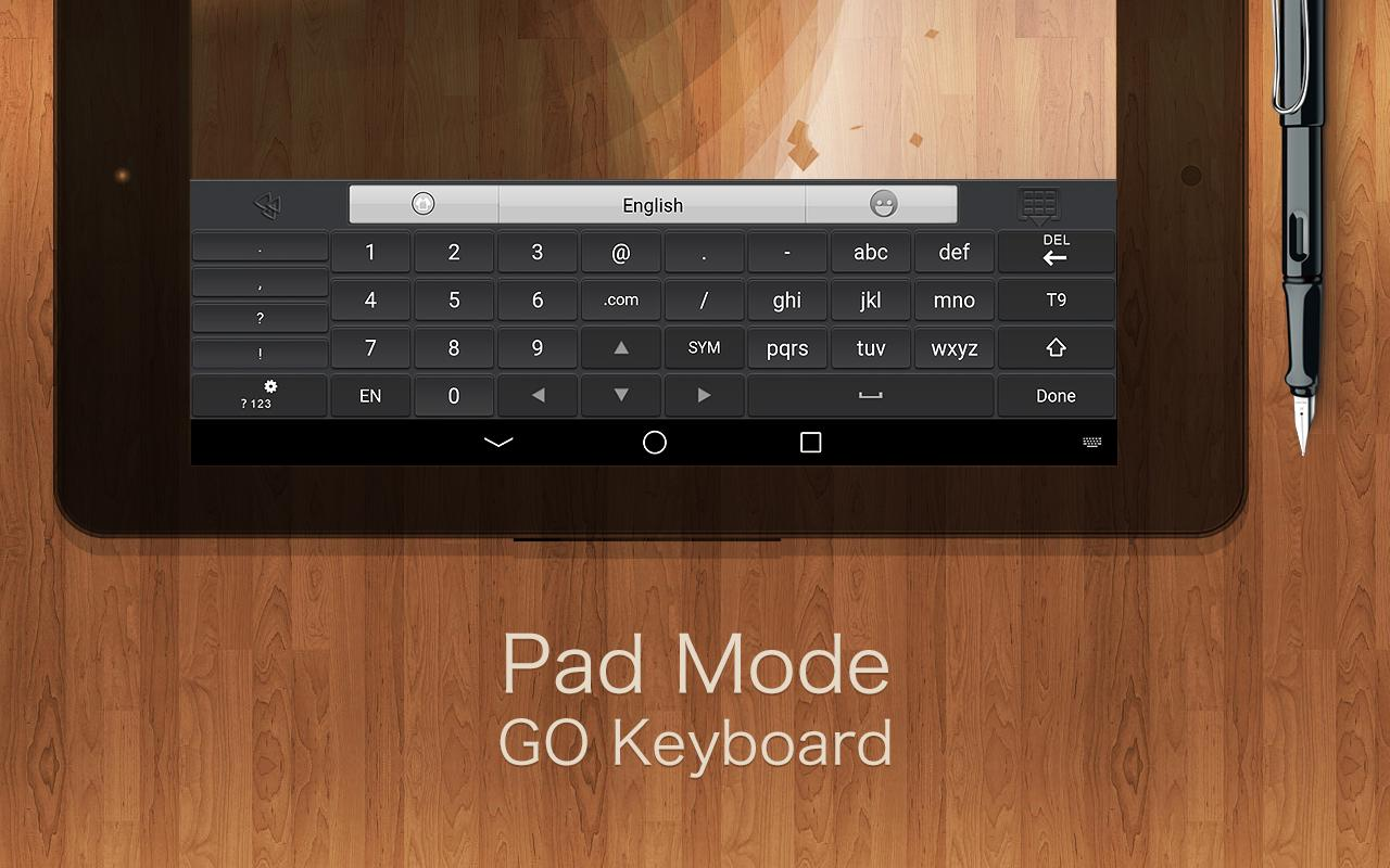 GO Keyboard Plugin- Tablet,Pad - screenshot