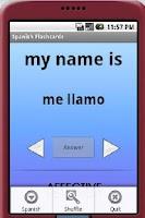 Screenshot of Middle School Spanish