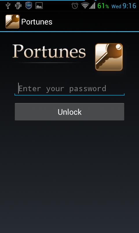 Portunes - screenshot