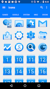 BLUE. Icon Pack v1.2