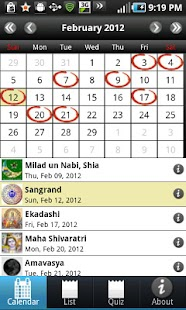 Desi Calendar- screenshot thumbnail