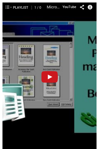 Office Publisher Tutorial