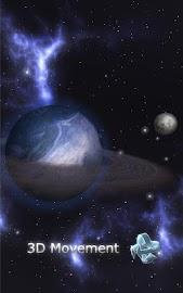 GyroSpace 3D Live Wallpaper Screenshot 1