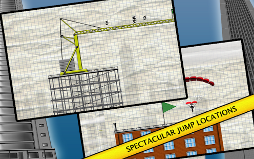 Stickman Base Jumper- screenshot thumbnail