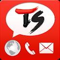 TS 국제 문자/전화 in Korea logo