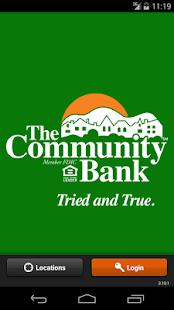 The Community Bank Mobile - screenshot thumbnail