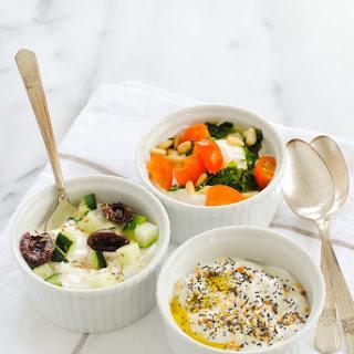 Savory Yogurt Three Ways.