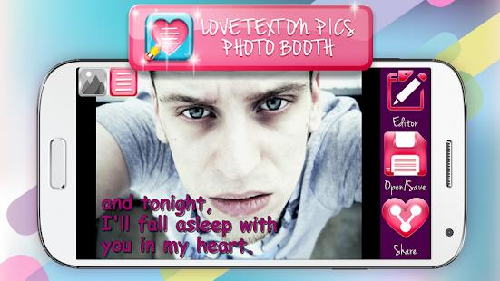 Láska Text do Obrazku - náhled