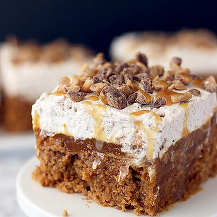 Double Pumpkin Poke Cake Recipe