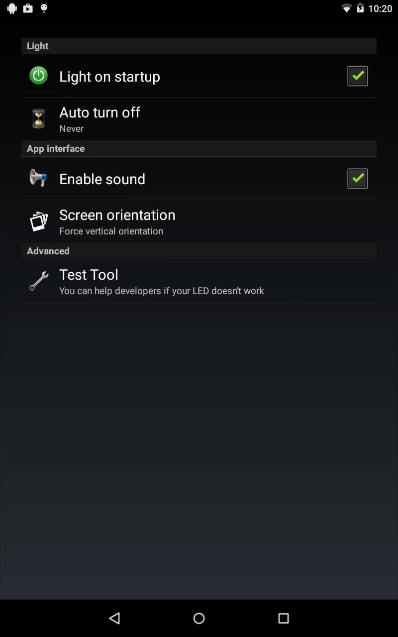 FlashLight HD LED Pro Screenshot 9