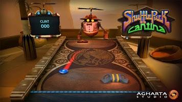Screenshot of Shufflepuck Cantina