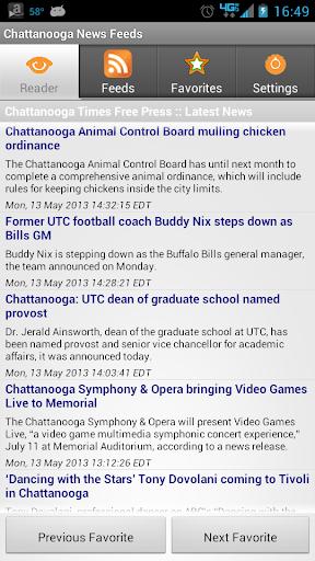 Chattanooga News Feeds