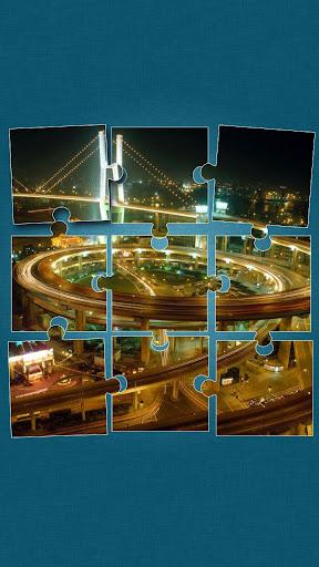 橋樑 拼圖遊戲 遊戲