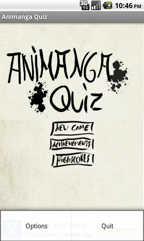 Animanga Quiz- screenshot