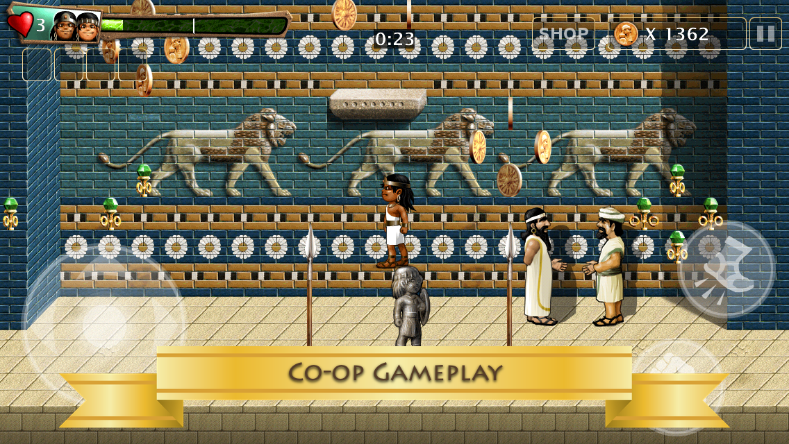 Babylonian Twins Platformer + - screenshot