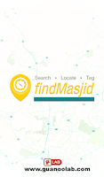 Screenshot of findMasjid