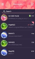 Screenshot of GO SMS PRO THETIS THEME