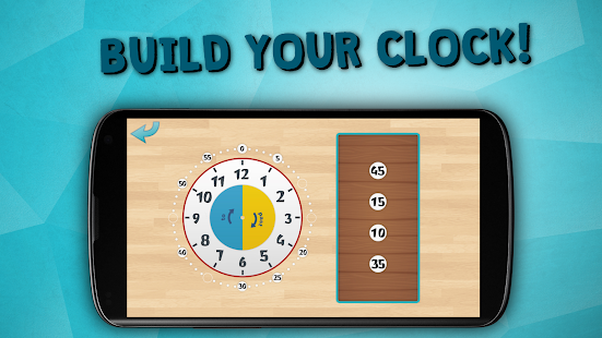 Kids learn to tell time free- screenshot thumbnail