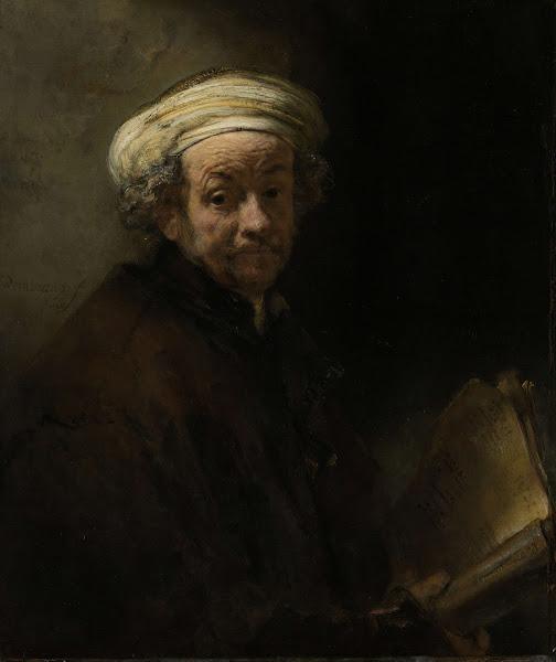 Autoportrait en tant que l'apôtre St Paul, 1661