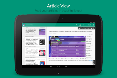 gReader | Feedly | News | RSS Screenshot 3