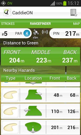 CaddieON Golf