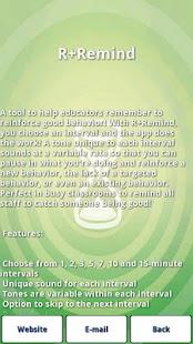 R+Remind- screenshot thumbnail