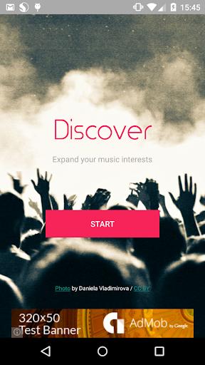 Discover - Find similar artist