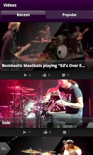 Chad Smith Drum App - screenshot thumbnail