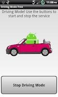 Screenshot of Driving Mode Free