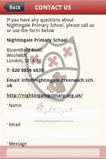 Nightingale Primary School- screenshot thumbnail