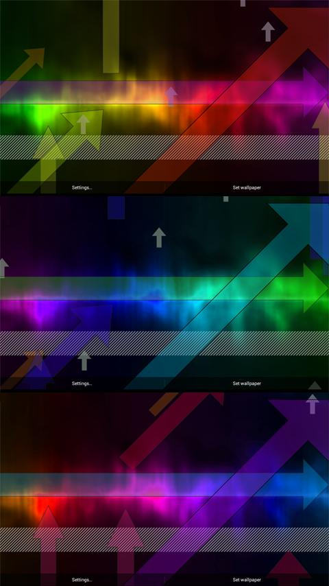 Arrows Live Wallpaper – FULL- screenshot