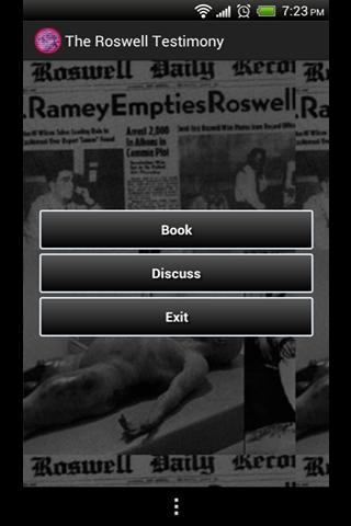 The Roswell Testimony