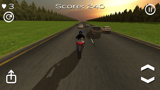 Motorbike Super Racing