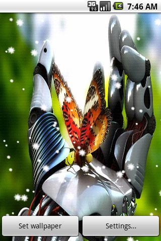 4D Butterfly Live Wallpaper