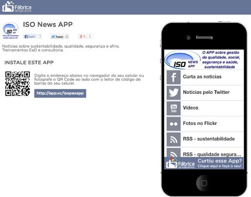 ISO News APP