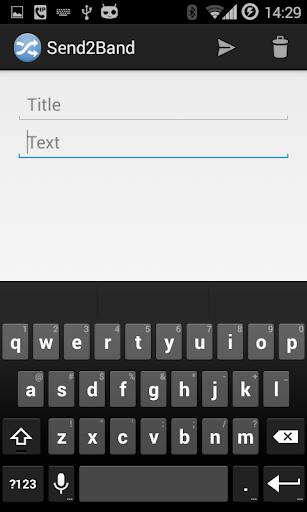 Send2Band