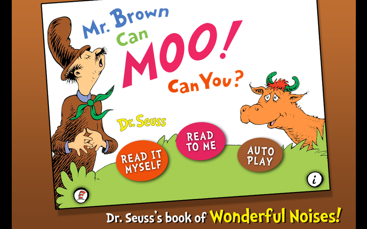 Mr. Brown Can Moo! Can You? - screenshot