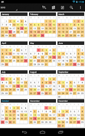 Business Calendar Pro Screenshot 21