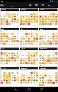Business Calendar Pro Screenshot 21