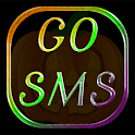 Go SMS Metallic Halloween logo