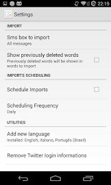User Dictionary Plus (Free) Screenshot 3